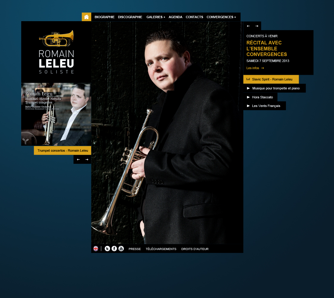 Site web de Romain Leleu